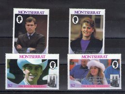 Montserrat. Fiançailles Du Duc Et De La Duchesse D'york - Montserrat