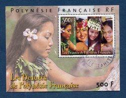 Polynésie Française - YT Bloc N° 25 - Oblitéré - 2000 - Blokken & Velletjes