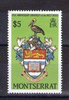 Montserrat. 40e Anniversaire De L'université De West Indies - Montserrat