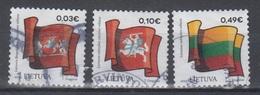 Lithuania 2019 Mi 1302-5  Used State Symbols - Lituanie