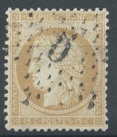Lot N°52128  N°59, Oblit étoile Chiffrée 5 De PARIS (Bt Magenta) - 1871-1875 Cérès