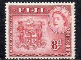 APR382 - FIJI 1953 , Yvert N. 136  ***  MNH  (2380A)visita - Fiji (...-1970)