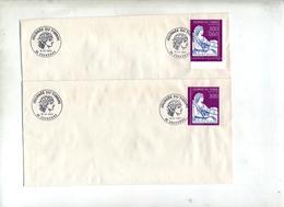 Lettre Cachet Eaubonne Journee Du Timbre 1997 - Postmark Collection (Covers)