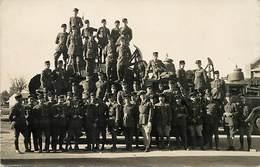 -themes Div.-ref-DD507 -carte Photo-militaires Militaria -regiments -regiment Rcc- Char De Combat - Tank -tanks - Chars - Reggimenti