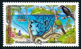NOUV.-CALEDONIE 2002 - Yv. 878 **   Faciale= 0,59 EUR - Jean Mariotti, écrivain  ..Réf.NCE25532 - New Caledonia