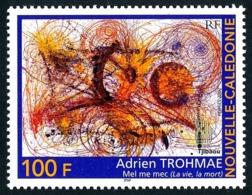 NOUV.-CALEDONIE 2002 - Yv. 881 **   Faciale= 0,84 EUR - Art Peinture D'Adrien Trohmae  ..Réf.NCE25535 - New Caledonia