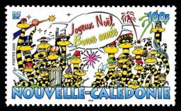 NOUV.-CALEDONIE 2002 - Yv. 882 **   Faciale= 0,84 EUR - Joyeux Noël, Bonne Année  ..Réf.NCE25536 - New Caledonia