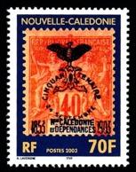 NOUV.-CALEDONIE 2003 - Yv. 889 **   Cote= 3,00 EUR - Centenaire Du 1er Cagou Sur Timbre  ..Réf.NCE25540 - New Caledonia