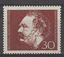 Germany 1966. Werner Von Siemens M=528 Y=385  (**) - Neufs