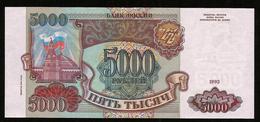 * Russia 5000 Rubles 1993 - 1994 ! UNC ! - Russia