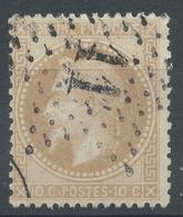 Lot N°52136  N°28B, Oblit étoile Chiffrée 11 De PARIS (Pl Du Théatre-Français) - 1863-1870 Napoléon III Lauré