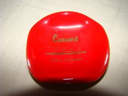"""Cendrier En Céramique Rouge """" CUNARD USA & CANADA """" - Asbakken"""
