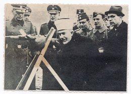 WWII, GERMAN TROOPS IN BOSNIA, PRIEST, GUN, PHOTOGRAPH - Photographs