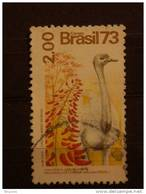 Brazilie Bresil Brasilien Brasil  Yv 1087 O - Straussen- Und Laufvögel