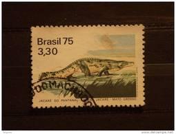 Brazilie Bresil Brasilien Brasil Jacare  Yv 1153 O - Reptiles & Batraciens