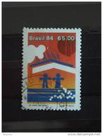 Brazilië Brésil Brasil 1984 Anniv Banque Nationale De L'habitation Symbole Yv 1685  O - Gebruikt
