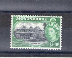 Montserrat. Siège Du Gouvernement. 2$40 - Montserrat