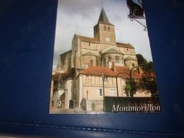 CPSM CPM  VIENNE MONTMORILLON LE CHAT VAILLANT SUR L EGLISE NOTRE DAME - Montmorillon