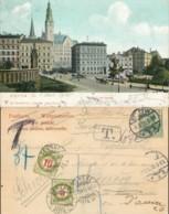 NB - [75099]TB//-Allemagne - Reich 1905 - CP De Stettin, UPU, Taxée En Suisse - Deutschland