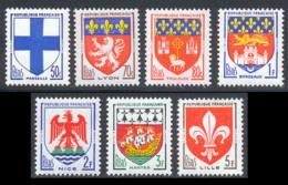 France 1958 Yvert 1180 / 1186 ** TB - Unused Stamps