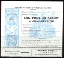 France Franchise 1964 Yvert 15 ** TB Paquet Franchise - Franchigia Militare (francobolli)