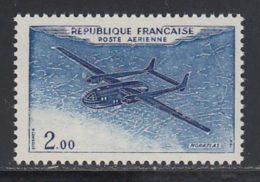 France PA 1960 Yvert 38a ** TB Variete Outremer Unicolore - Posta Aerea
