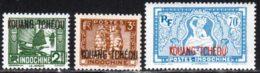 Kouang-Tcheou 1937 Yvert 103 - 125 - 134 ** TB - Unused Stamps