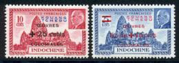 Kouang-Tcheou 1944 Yvert 156 / 157 ** TB Bord De Feuille - Unused Stamps