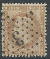 Lot N°52148  N°28A, Oblit étoile Chiffrée 3 De PARIS (Pl De La Madeleine) - 1863-1870 Napoleone III Con Gli Allori