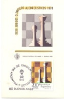 BUENOS AIRES OLYMPICS OF CHESS  (GENN200568) - Scacchi