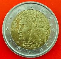 ITALIA - 2015 - Moneta - Dante Alighieri, Dipinto Da Raffaello - Euro - 2.00 - Italia