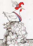 B63902 Cpm Bicentenaire De La Révolution Française - Illustrateur Ronald Searle - Postcards