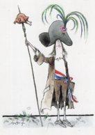 B63907 Cpm Bicentenaire De La Révolution Française - Illustrateur Ronald Searle - Postcards