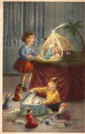 BUON NATALE-BAMBINI-PRESEPE- - Christmas