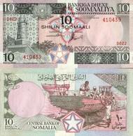 Billet Somalie 10 Shilin - Somalie
