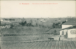 66 PERPIGNAN /  Panorama Des Jardins Saint Jacques / - Perpignan