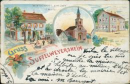 67 SOUFFELWEYERSHEIM /  Gruss Aus... / Dessin Couleur - Andere Gemeenten
