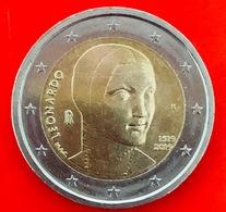 ITALIA - 2019 - Moneta - 500 Anni Della Morte Di Leonardo Da Vinci - Dama Con L'ermellino - Euro - 2.00 - Italia