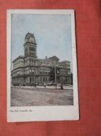 City Hall Louisville  Kentucky    Ref 3835 - Louisville