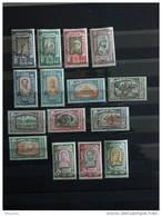 Ethiopie Ethiopia Athiopien 1919 Effigies Et Animaux Dieren Yv  117-131 Mi 64-78 MNH ** - Ethiopie