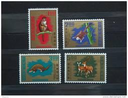 Formosa Formose Taiwan 1971 Animaux Dieren Macaca Petaursta Manis Cervus Yv 763-766 Mi 826-829 MNH ** - Postzegels