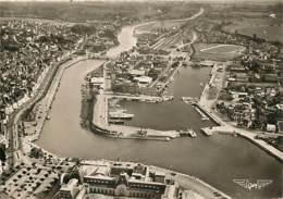 14 - Trouville - Deauville - Vue Aérienne, Au Centre Le Port Des Yachts - CPSM Grand Format - Voir Scans Recto-Verso - Trouville