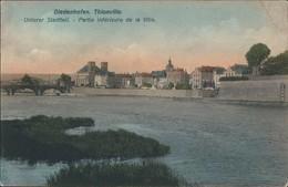 Ansichtskarte Diedenhofen Thionville Unterer Stadtteil 1915 - France
