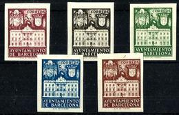 España Barcelona Nº 33s/37s Nuevo. Cat.74€ - Barcelona
