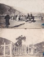 Lot De 6 Carte-photos Localisées à Perpignan Et Amélie Sur 1 Concours International D'équitation/ Rare!!!! - Postcards