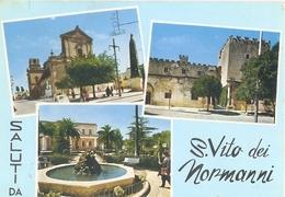 16/FG/09 - BRINDISI - S. VITO DEI NORMANNI: Saluti Da, Cone Vedutine - Brindisi