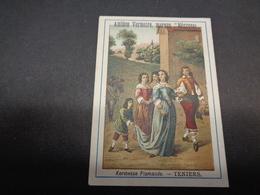 "Chromo ( 1043 )   Publicité  Reclame  -  Amidon Vermeire   Marque "" Négresse "" - Chromos"