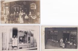LOT DE 3 CARTES PHOTOS DU 47 - Cartes Postales