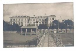 CARTOLINA POSTALE Liguria Sestri Levante Grand Hotel Jensch Cartolina Inviata Da Una Amica Al Sen. Giuseppe Greppi - Publicidad