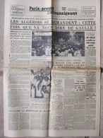 Journal Paris-Presse L'Intransigeant (28 Août 1958) De Gaulle/Algériens - Incendie Mourepiane - Plan F.L.N - J Gréco - Autres